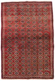 Ghashghai Covor 105X156 Orientale Lucrat Manual Roșu-Închis/Maro Închis (Lână, Persia/Iran)