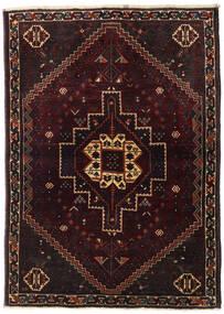 Ghashghai Matto 114X157 Itämainen Käsinsolmittu Tummanruskea/Tummanpunainen (Villa, Persia/Iran)
