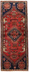 Kaszkaj Dywan 82X213 Orientalny Tkany Ręcznie Chodnik Ciemnoczerwony/Rdzawy/Czerwony (Wełna, Persja/Iran)
