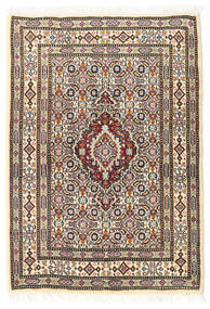 Moud Rug 62X88 Authentic  Oriental Handknotted (Wool/Silk, Persia/Iran)
