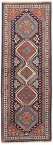 Yalameh Matto 53X145 Itämainen Käsinsolmittu Käytävämatto (Villa, Persia/Iran)