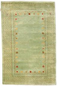 Gabbeh Loribaft Dywan 119X185 Nowoczesny Tkany Ręcznie Jasnozielony (Wełna, Indie)