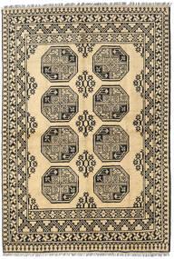 Afghan Matta 160X233 Äkta Orientalisk Handknuten Mörkgrå/Mörkbeige/Ljusbrun (Ull, Afghanistan)
