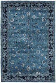 Gabbeh Loribaft Alfombra 189X284 Moderna Hecha A Mano Azul Oscuro/Azul (Lana, India)