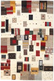 Gabbeh Loribaft Rug 199X305 Authentic  Modern Handknotted Beige/Dark Red (Wool, India)
