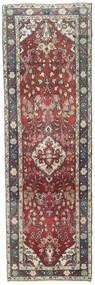Hamadan Patina Teppe 84X270 Ekte Orientalsk Håndknyttet Teppeløpere Mørk Grå/Svart (Ull, Persia/Iran)