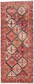 Ardebil Patina Rug 135X330 Authentic  Oriental Handknotted Hallway Runner  Dark Red/Beige (Wool, Persia/Iran)