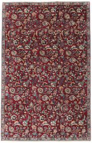 Meszhed Patina Dywan 173X270 Orientalny Tkany Ręcznie Ciemnoczerwony/Ciemnoszary (Wełna, Persja/Iran)