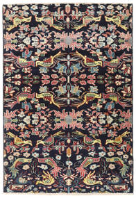 Bakhtiari Patina Rug 112X165 Authentic Oriental Handknotted Dark Purple/Beige (Wool, Persia/Iran)