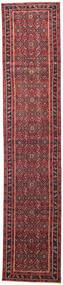 Hamadan Patina Tapis 78X380 D'orient Fait Main Tapis Couloir Rouge/Marron (Laine, Perse/Iran)