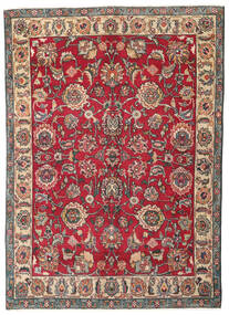Tabriz Patina Rug 130X182 Authentic Oriental Handknotted Dark Grey/Crimson Red (Wool, Persia/Iran)