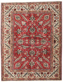 Tabriz Patina Rug 156X197 Authentic Oriental Handknotted Light Brown/Rust Red (Wool, Persia/Iran)