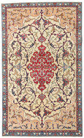 Najafabad Patina Rug 140X236 Authentic  Oriental Handknotted Beige/Dark Brown (Wool, Persia/Iran)