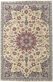 Najafabad Patina Rug 215X330 Authentic  Oriental Handknotted Light Grey/Beige (Wool, Persia/Iran)