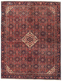 Hamadan Patina Rug 147X195 Authentic Oriental Handknotted Dark Red/Dark Brown (Wool, Persia/Iran)