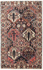 Bakhtiari Patina Rug 150X247 Authentic  Oriental Handknotted Light Brown/Dark Red (Wool, Persia/Iran)