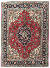 Tabriz Patina Rug 143X200 Authentic  Oriental Handknotted Light Grey/Black (Wool, Persia/Iran)