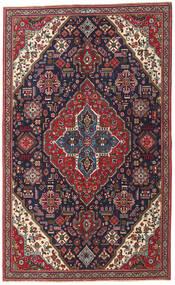 Tabriz Patina Matta 150X245 Äkta Orientalisk Handknuten Mörklila/Mörkröd (Ull, Persien/Iran)