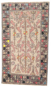 Baluch Patina Rug 108X193 Authentic  Oriental Handknotted Beige/Light Grey (Wool, Persia/Iran)