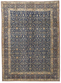 Kerman Patina Rug 287X400 Authentic  Oriental Handknotted Light Grey/Dark Grey Large (Wool, Persia/Iran)