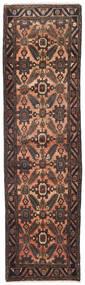 Hamadan Patina Dywan 83X300 Orientalny Tkany Ręcznie Chodnik Ciemnobrązowy/Jasnobrązowy (Wełna, Persja/Iran)