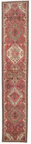 Hamadan Patina Dywan 78X410 Orientalny Tkany Ręcznie Chodnik Jasnobrązowy/Brązowy (Wełna, Persja/Iran)