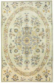 Najafabad Patina Rug 220X343 Authentic  Oriental Handknotted Dark Beige/Beige (Wool, Persia/Iran)
