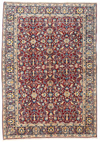 Kerman Rug 167X236 Authentic  Oriental Handknotted Brown/Light Pink (Wool, Persia/Iran)