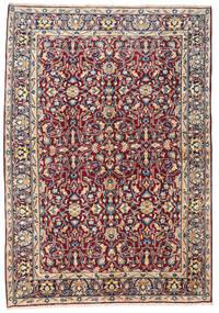 케르만 러그 167X236 정품  오리엔탈 수제 브라운/라이트 핑크 (울, 페르시아/이란)