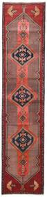 Sarab Alfombra 87X380 Oriental Hecha A Mano Rojo Oscuro/Marrón Oscuro/Óxido/Roja (Lana, Persia/Irán)