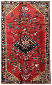 Lori Rug 190X325 Authentic  Oriental Handknotted Dark Red/Rust Red (Wool, Persia/Iran)