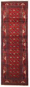 Turkmeński Dywan 97X295 Orientalny Tkany Ręcznie Chodnik Ciemnoczerwony/Ciemnobrązowy (Wełna, Persja/Iran)