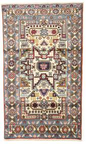 Ardabil Covor 95X160 Orientale Lucrat Manual Bej/Maro Deschis (Lână, Persia/Iran)