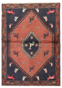 Kelardasht Rug 83X120 Authentic Oriental Handknotted Dark Grey/Dark Purple (Wool, Persia/Iran)