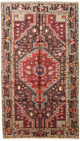 Toiserkan Rug 158X275 Authentic  Oriental Handknotted Dark Red/Dark Brown (Wool, Persia/Iran)