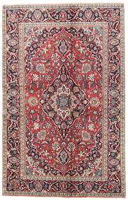Kashan Szőnyeg 125X195 Keleti Csomózású Bézs/Világosszürke (Gyapjú, Perzsia/Irán)