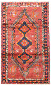 Lori Covor 117X200 Orientale Lucrat Manual Portocaliu/Ruginiu (Lână, Persia/Iran)