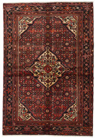 Hosseinabad Matta 154X220 Äkta Orientalisk Handknuten (Ull, Persien/Iran)