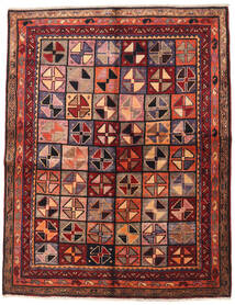 Lori Rug 155X200 Authentic  Oriental Handknotted Dark Red/Brown (Wool, Persia/Iran)