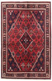 Joshaghan Dywan 135X200 Orientalny Tkany Ręcznie Czarny/Czerwony (Wełna, Persja/Iran)