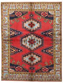 Wiss Teppich  160X205 Echter Orientalischer Handgeknüpfter Braun/Dunkellila (Wolle, Persien/Iran)