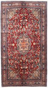 Bidżar Dywan 137X250 Orientalny Tkany Ręcznie Ciemnoczerwony/Ciemnofioletowy (Wełna, Persja/Iran)