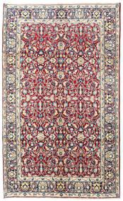 Kerman Matta 160X260 Äkta Orientalisk Handknuten Ljusrosa/Mörkgrå (Ull, Persien/Iran)