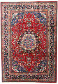 Mashad Rug 240X337 Authentic  Oriental Handknotted Dark Red/Dark Grey (Wool, Persia/Iran)