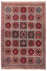 Joshaghan Rug 105X155 Authentic  Oriental Handknotted Beige/Dark Red (Wool, Persia/Iran)