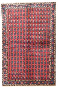 Wiss Covor 100X155 Orientale Lucrat Manual Violet Deschis/Portocaliu (Lână, Persia/Iran)