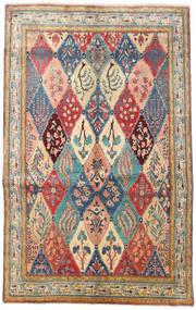 Mahal Dywan 160X250 Orientalny Tkany Ręcznie Ciemnoszary/Jasnobrązowy (Wełna, Persja/Iran)