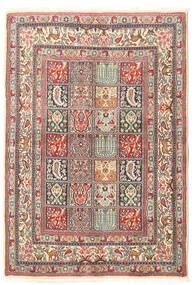 Moud Tapis 104X150 D'orient Fait Main (Laine/Soie, Perse/Iran)