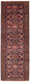 Bakhtiari Rug 103X289 Authentic  Oriental Handknotted Hallway Runner  Brown/Dark Purple (Wool, Persia/Iran)