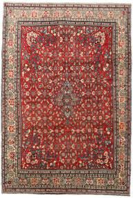 Zanjan Teppich 208X303 Echter Orientalischer Handgeknüpfter Dunkelbraun/Hellbraun (Wolle, Persien/Iran)